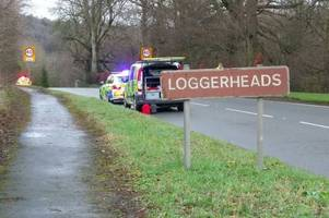 two motorists have died in separate north wales crashes