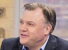 labour's ed balls hints he might waltz back into politics