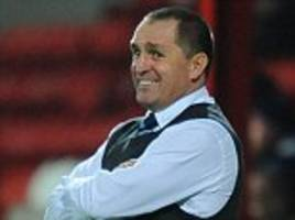 martin allen: being sacked by eastleigh was disappointing