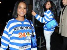 christina milian goes casual after iheart radio awards