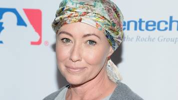shannen doherty feels 'lucky' after cancer treatment