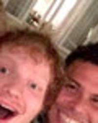 unbelievable reason ed sheeran became pals with footballer ronaldo