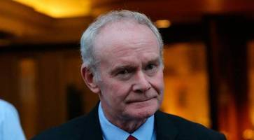 martin mcguinness's health a private family matter, says sinn fein chief adams