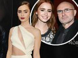lily collins pens open letter to father phil collins