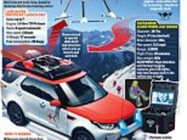 red cross heroes get land rover with its own rescue drone