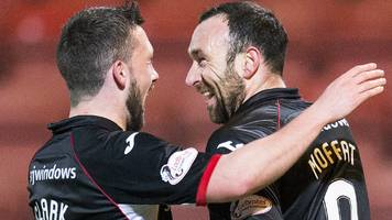 dunfermline athletic 1-1 queen of the south