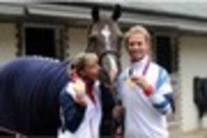 charlotte dujardin to pick up her obe, but has she has found the...