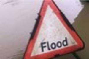 flood warnings issued for large parts of east devon