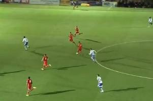 watch: liverpool fc and wales wonderkids ben woodburn and harry wilson combine to finish off stunning counter-attack