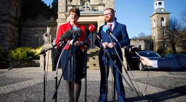 arlene foster: sinn fein must not try to influence other parties on ministers