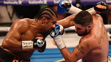 david haye expects a fine for comments before bellew fight