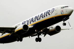 rowdy passengers booted off ryanair flight from glasgow to lanzarote after attempting to start a fight