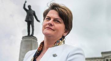 arlene foster tight-lipped on retaking first minister position