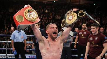carl frampton to receive honorary degree from queen's university belfast
