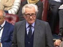 heseltine complains of being treated like 'an old f**t'