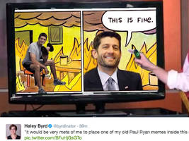 people on twitter are turning paul ryan's healthcare presentation into hilarious memes