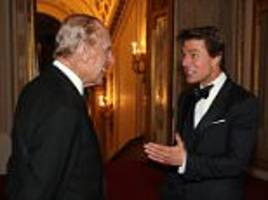 tom cruise and prince philip meet at buckingham palace