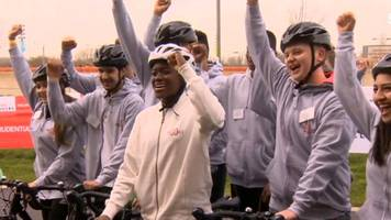 ridelondon 46: olympic boxing champion nicola adams prepares for 46-mile cycle ride