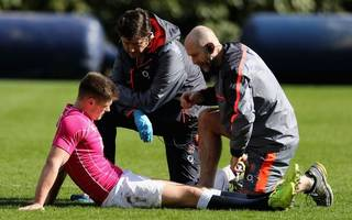 farrell injury clouds england's plan for scotland clash