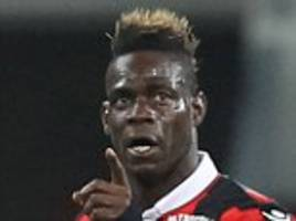 mario balotelli scores his 10th goal of the season