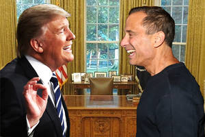 tmz staffers 'uncomfortable' with harvey levin's trump ties: 'everyone thinks it's really gross' (exclusive)