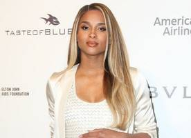 pregnant ciara is ok after scary car accident