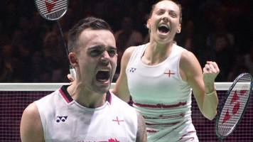 all england open: adcocks comeback beats olympic badminton champions