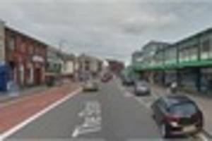 shoppers flee 'wild west' scene in town centre after family feud