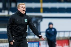 hibs boss neil lennon demands players focus on league as he fears hunt for cup glory is sending stars off track