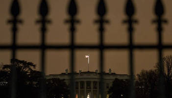intruder arrested after entering white house grounds with trump inside
