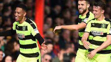 huddersfield boost automatic promotion hopes