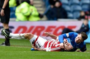 rangers will be better off without 'liability' joe garner against celtic - chris sutton