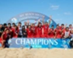 uae lose 7-2 to iran in afc beach soccer championship 2017 final