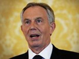 blair did offer to help trump in the middle east