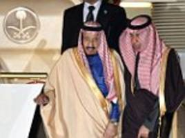 saudi king arrives in tokyo with1,000-strong entourage