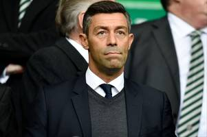rangers boss pedro caixinha won't be worried about facing celtic in the scottish cup semi-final – hotline