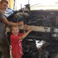 boy, 8, saves dad after car crushes him in idaho