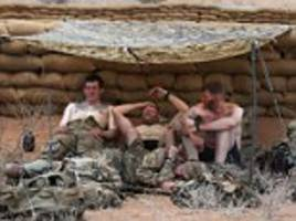 british soldiers endure ultimate 'stress test' in 40c heat
