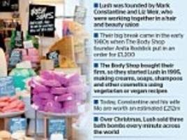 cosmetics firm lush move staff to germany before brexit
