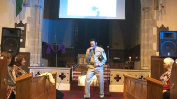 elvis presley songs performed at st canice's church