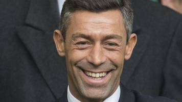 rangers: new manager pedro caixinha eyes scottish cup glory