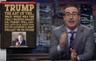 video: john oliver says gop health care bill is equivalent of terrible 'pirates of the caribbean' sequel