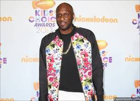 lamar odom says he's 'doing great' at first orange carpet appearance since rehab stint
