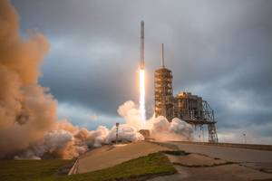 watch spacex launch a communications satellite on its falcon 9 rocket tonight