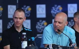 froome breaks silence over team sky principal brailsford