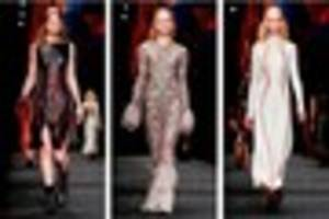world famous fashion label alexander mcqueen was inspired by a...