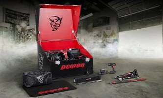Dodge Details Demon Crate For The Baddest Challenger Of Them All