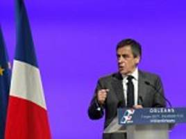 french presidential candidate francois fillon is charged