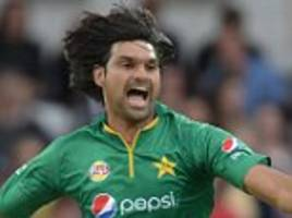 pakistan bowler mohammad irfan gets provisional suspension