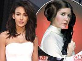michelle keegan plays princess leia on new comedy series